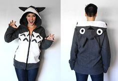 Studio Ghibli hoodies from Rarity Boutique - Spirited Away and Princess Mononoke designs also