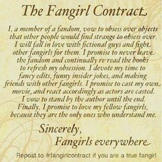 Fangirling contract. (NOTE: All girls who love Leo [hey, he's Hot Stuff. Get it? Hehehe] I would recommend either getting over him or moving to a different galaxy where you'll be safe. Just a note.)