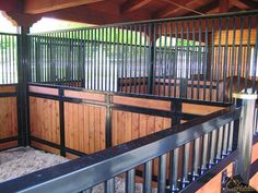 Which type of stall partition should you use for your #barn? #horses