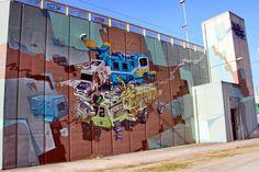 Wall paints, Muurschilderingen, Peintures Murales,Trompe-l'oeil, Graffiti, Murals, Street art.: Antwerp - Belgium