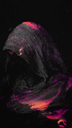 Woman, hood, dark, art, 720x1280 wallpaper