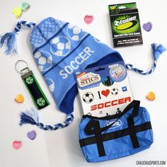 Got a Soccer Valentine this year? Check out our Soccer Valentine's Day Gift Bag!