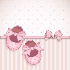 """Photo from album """"Set of baby booties and decorative backgrounds"""" on Yandex. Scrapbook Bebe, Scrapbook Paper, Album Baby, Imprimibles Baby Shower, Baby Motiv, Baby Girl Clipart, Diy And Crafts, Paper Crafts, Baby Stickers"""