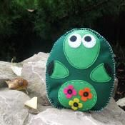 Stuffed Turtle - via @Craftsy