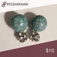 Double-sided Earrings New Double-sided earrings Jewelry Earrings
