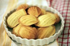 Authentic French madeleins recipe  http://www.thekitchn.com/how-to-make-madeleines-the-sim-110445