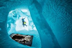 2015 ICEHOTEL Opens Doors for Another Season of Sleeping in a Room Made of Ice and Snow - My Modern Met