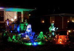 Halloween Discussion Forum, Haunts and Home Haunt Community. Pirate Halloween, Halloween Scene, Haunted Halloween, Halloween 2016, Halloween Themes, Halloween Crafts, Halloween Party, Halloween Decorations, Pirate Decor