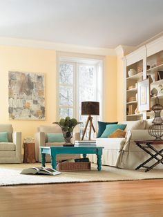 The Power of Palettes - Color Theory 101: Analogous, Complementary and the 60-30-10 Rule on HGTV