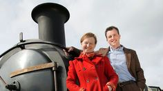 Historians Ruth Goodman, Alex Langlands and Peter Ginn bring back to life the golden age of steam and explore how Victorian railways created modern Britain. Ruth Goodman, Bbc Two, South Devon, Episode 5, Historian, Golden Age, Documentaries, Movie Tv, Actors