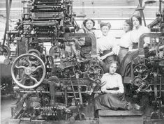 Women and young girl at Armley Mills                                                                                                                                                                                 More