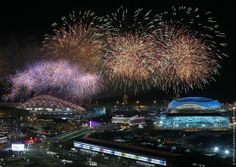 The closing ceremony of the Winter Olympics 2014 in Sochi