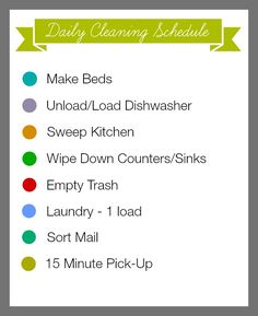 31 Days of 15 Minute Organizing Daily Cleaning Schedule Printable - Organize and Decorate Everything Daily Cleaning Lists, Zone Cleaning, Cleaning Schedule Printable, Spring Cleaning Checklist, Speed Cleaning, Weekly Cleaning, House Cleaning Tips, Diy Cleaning Products, Cleaning Schedules