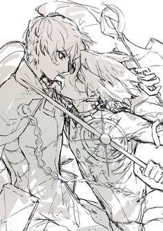Croquis Drawing, Drawing Poses, Character Design Animation, Character Art, Manga Art, Anime Art, Mega Anime, Anime Stories, Ship Drawing
