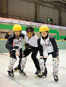 Apolo Ohno in China and Japan with Special Olympics!