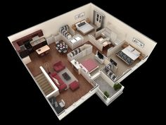 3 bedroom, 2 bath 1,404 sf apartment at Springs at Tech Ridge in Austin, TX. The 3 bedroom apartment comes with two spacious walk-in closets, 2 large closets and a balcony. http://springsapartments.com/tech-ridge/floor-plans/