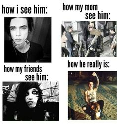 the best one is how the mom sees him bahaha