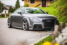 Best Sports Cars : Audi TT RS in spacegrey metallic …. Audi Tt, Audi Cars, Super Sport Cars, Cool Sports Cars, Tt Tuning, Audi Sport, Sweet Cars, Hot Cars, Luxury Cars
