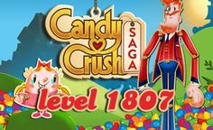 Candy Crush Saga Level 1807