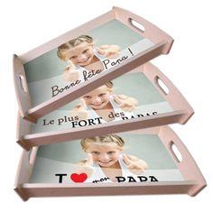 Un plateau repas personnalisé avec la photo qu il adore  un cadeau unique  pour la Fête des pères ! daef627ac83