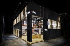 Kale Stand by Paolo Cesaretti at ISH 2015, Frankfurt – Germany » Retail Design Blog