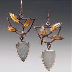 Patricia McCleery - Jewelry Gallery - Jewelry Gallery - Ganoksin Orchid