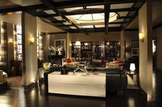 Otra vista del salón desde la cocina