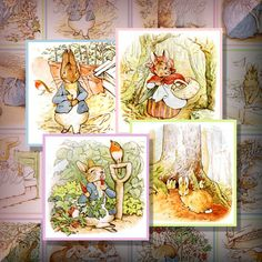 Peter Rabbit digitals for Easter.  So cute!