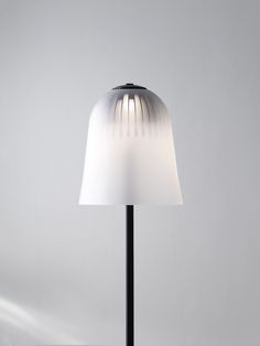 leibal: Bokeh is a minimalist floor and pendant light created by Oslo-based designer Daniel Rybakken for wästberg. A diffuse, frosted glass renders what lies beneath differently, depending on the objects distance to the glass. Interior Lighting, Lighting Design, Lighting Ideas, Light Effect, Minimal Design, Lamp Design, Frosted Glass, Bokeh, Contemporary Design