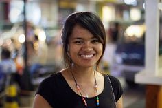 Sorphea. This awesome young woman is our Cambodian employee, and we are also helping her continue her education in English studies.
