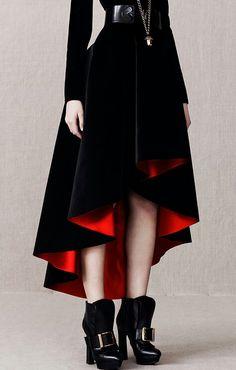 Gothic school uniform