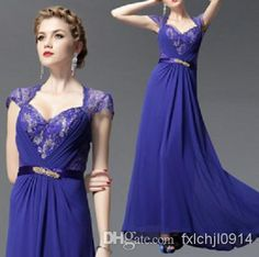 Wholesale Evening Dresses - Buy Sexy Beading Lace Open Back Evening Dresses/Prom Dresses/Pegeant Dresses, $98.0 | DHgate