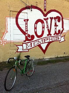 """Check out these six """"I Love Memphis"""" murals around town. Want a weekend mission? Find all the murals, take pictures, and tag #ilovememphis in all of them!"""