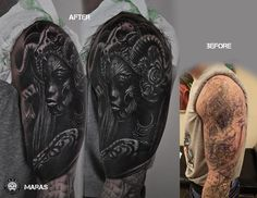 Cover Up Tattoo | zoom | digart.pl