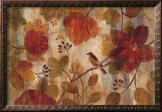 Exotic Garden Art Print by Silvia Vassileva at Art.com