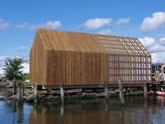 Kebony Boat House by TreStykker Students - News - Frameweb