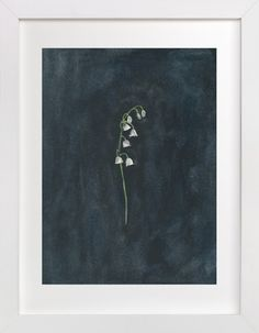 Remember: Lily of the Valley by Renee Anne at minted.com