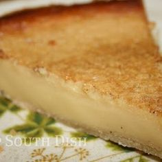 Old Fashioned Custard Pie Recipe - Deep South Dish & ZipList