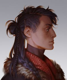 by Katarzyna Ulvar Bekus (littleulvar) Fantasy Character Design, Character Design Inspiration, Character Concept, Character Art, Concept Art, Story Inspiration, Character Ideas, Dnd Characters, Fantasy Characters