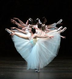 I saw this beautiful ballet.