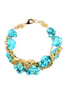 Shoptiques — Turquoise Necklace