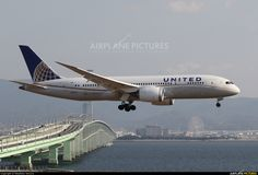 United Airlines N26910 at Kansai Int..