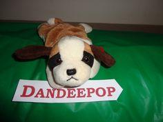 Original TY Beanie Babie Bernie ST. Bernard Dog 1996 stuffed animal find me at www.dandeepop.com