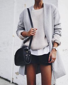 Winter to spring outfit Spring Fashion, Winter Fashion, Looks Style, My Style, Fashion Details, Fashion Trends, Fashion Fashion, Fashion Check, Fashion Ideas