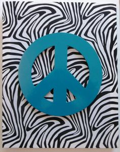 Zebra Print Peace Sign Wall Decor Unique Pink Peace Wall Art Sign Girls Bedroom Signs Tori's Room 2018