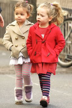 Marion Loretta Elwell y Tabitha Hodge las adorables gemelitas de Sarah Jessica Parker