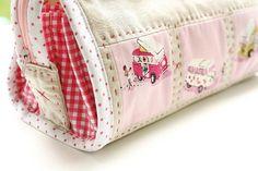 Pink Heather Ross Sew Together Bag