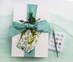 DIY Gift Tags from Painterly Days | Rue