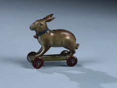 Attributed to Meier, rabbit tin penny toy,  Germany