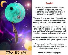 THE WORLD #tarotcardmeaning